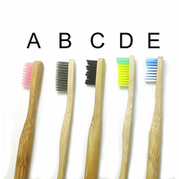 professional personalized wooden toothbrush bamboo high quality
