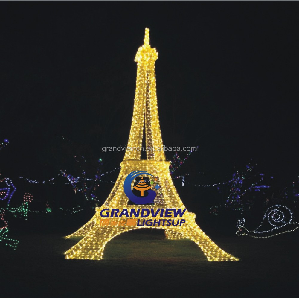 String Lights Eiffel Tower : LED 3D Lightup Eiffel Tower christmas motif lights for holiday decorated, View led Eiffel Tower ...