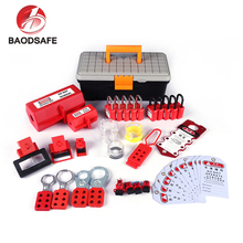 BAODI Hot Sale Durable Electrical Safety Lockout Tagout Devices Kits
