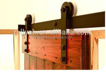 Easy Operation and Space Saving Wardrobe Sliding Barn Door Hardware Used for Conference Room