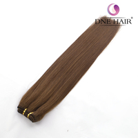 2018 Wholesale High Quality Human Hair Weave Bundles Mixed Color #4/6 Silky Virgin Brazilian Straight Weave Hair Extension