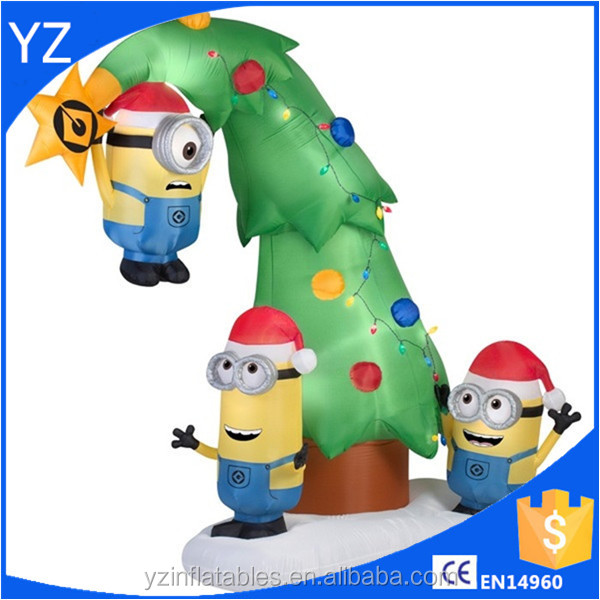 Indoor small inflatable christmas decorations