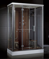 6KW STEAM SHOWER CABIN FOR 2 PEOPLE TOUCH SCREEN CONTROL PANEL