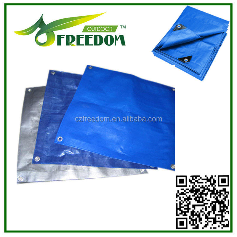 poly plastic woven fabric laminating tarp