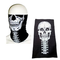 Delivery from USA Los Angeles Tube MULTI-FUNCTION 12 IN 1 MICROFIBER TUBULAR SKELETON SKULL JAWBONE TUBE NECK WARMER FACE MASK