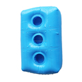 PVC flocked Inflatable Float Cup Holder, cheap blue Inflatable Float Drink Holder
