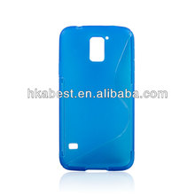 New Arrival S line Soft Gel Tpu Cover For Samsung Galaxy S5 i9600