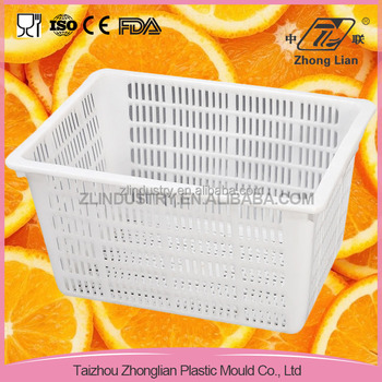 2016 new-design rectangular plastic storage for vegetable