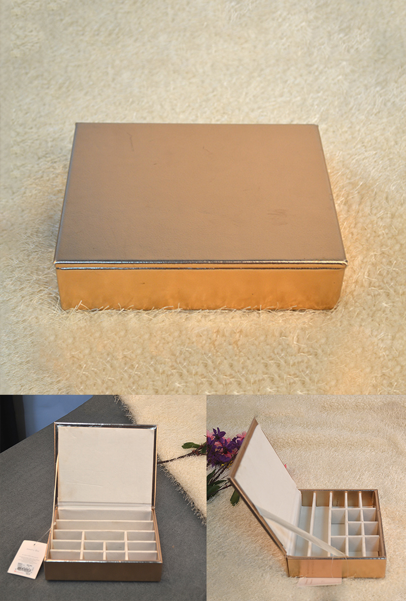 Custom luxury leather Jewellery packaging storage bead velvet jewelry box girls ring,necklace package box manufacturer