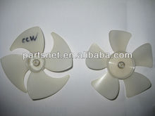 Plastic fan blade for shaded pole motor / Air conditioner fan blade / Plastic blade for cooling system