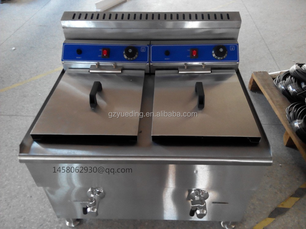directly factory price double tank 36L gas commercial chicken pressure fryer