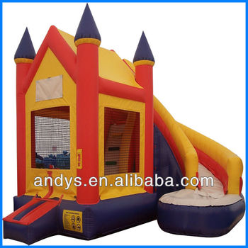 Birthday parties big jumping castle Inflatable slide
