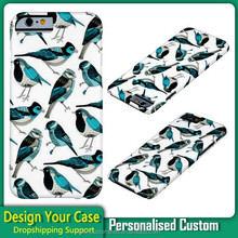 Lovely Birds OEM Case For iPhone 6 /3D Cover For Apple iphone 6,Custom Case For iphone 6