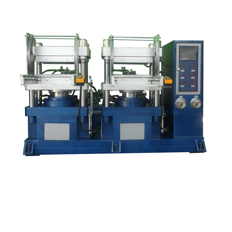 Supply of double-headed 65T silicone rubber vulcanizing machine double-headed vulcanizing machine