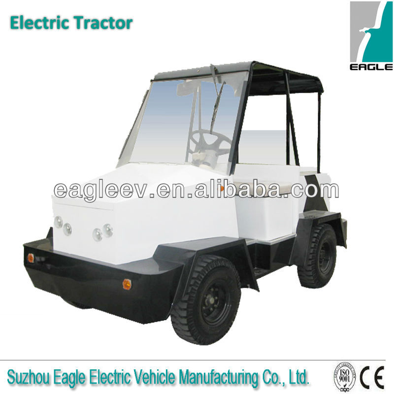 small Electric towing tractor with 5 tons towing capacity, CE approved