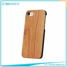 Real blank cherry wood for i phone cover,for apple 7 case,for apple 7 cover