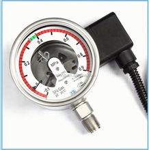 High quality china made SF6 electric contact pressure gauge