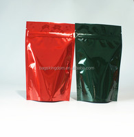 Custom plastic packaging seed packaging bags pouch with zipper