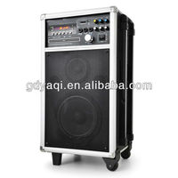 TK-T29 Professional 10inch rechargeable karaoke fm dj sound equipment
