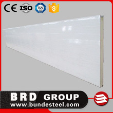 ISO Approved heat resistant pu cold room sandwich wall panel