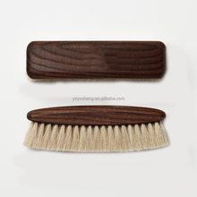 wood shoe100%Horse hair brush Wood Dust Bristle Brush Home Hotel Bed Sofa Car Carpet Remove Cleaning Tool