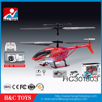 Hot!! Kids game 3.5 channel mini rc helicopter with camera HC301803