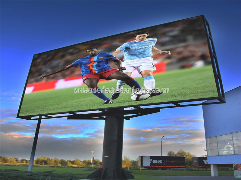 Full Color rgb p10 outdoor led display board / led video wall wholesale price