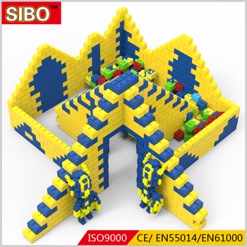 2018 Shopping mall EPP intelligent children Building Blocks Bricks
