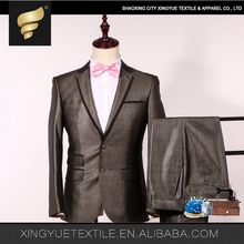 Hot sale top brand 2017 New Fashion Tailored Italian men suit