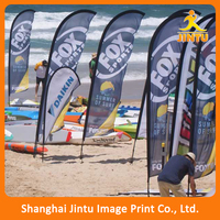 2016 outdoor feather event flag for promotion