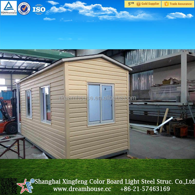 Casa prefabricada de acero moderna cabina hotel cuadro - Casa prefabricada acero ...