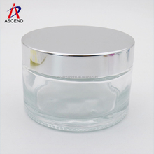 200ml round facial hair hand mask glass cosmetic cream skin care jar