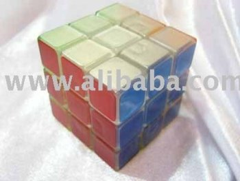 Magic cube 3x3 Clear Body