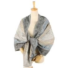 Handmade hot sale classic beautiful women polyester scarf