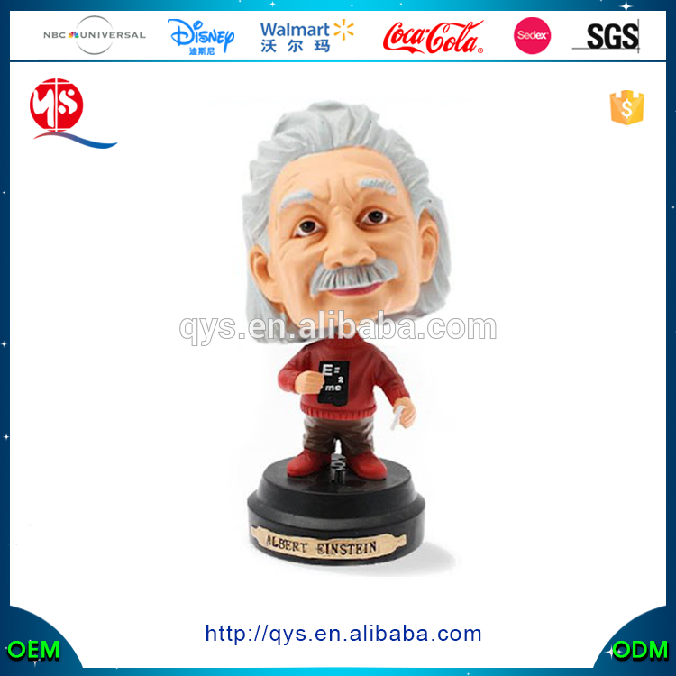 Wholesale Cheap Custom Resin Figurine Einstein Bobble Head