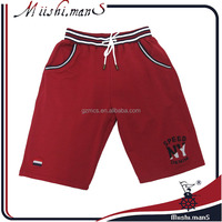 wholesale kitting cotton embroidered sweat shorts