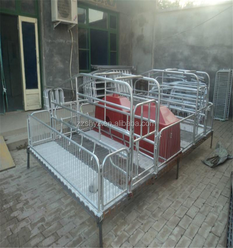 20 years manufacture customized pig cages for sales