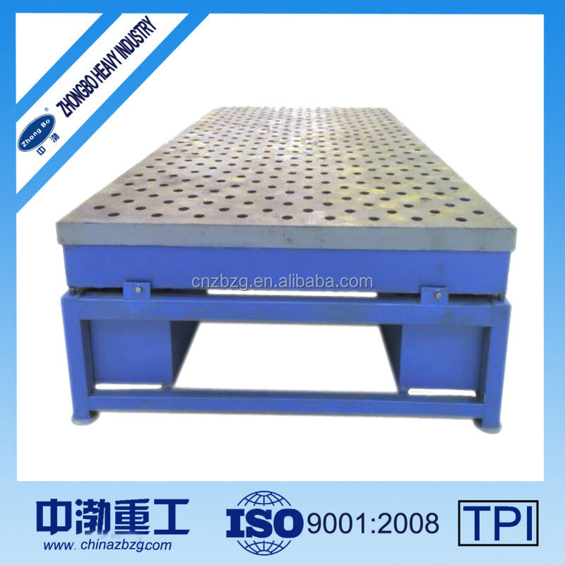 Adjustable Motor Machine Engine Cast Iron Surface Plate for fix and debug