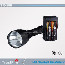 TrustFire unique design! TR-500 flashlight rechargeable, led torch colorful,flashlight starlight