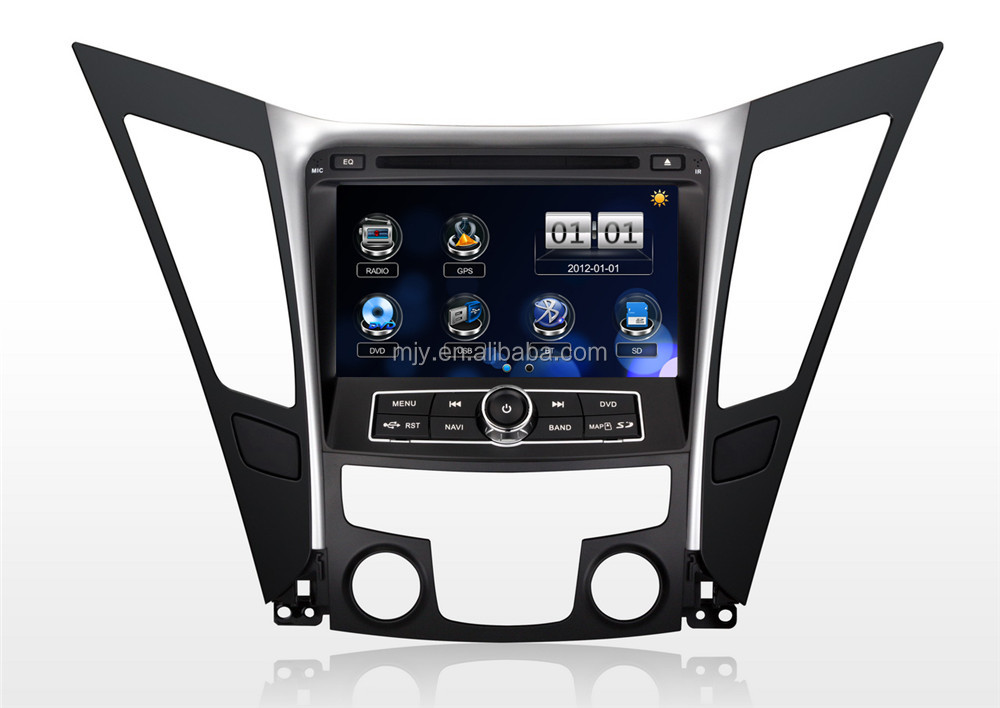 Year 2011 Car DVD GPS Navigation System for Hyundai Sonata