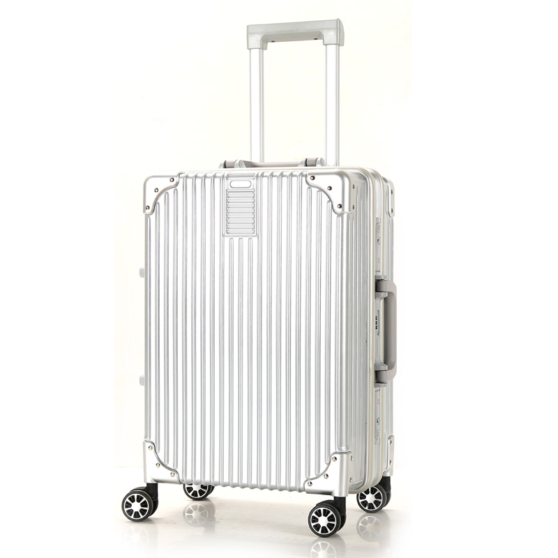 Competitive Price Stronger Durable white luggage