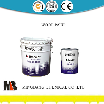 Scratch resistant PU polyurester furniture cabinet wood paint