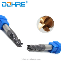 DOHRE HRC55 Roughing Cutting End Mills with High Quality Material