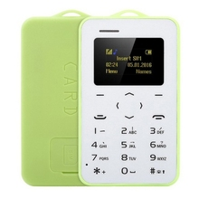 Mini free sample C6 Card Mobile Phone