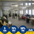Ark Top Quality Good Price Long Lifespan Flatpack Prefabricated Steel Registration areas