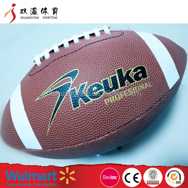 American football cheap Customized Wholesale PU American football size 9