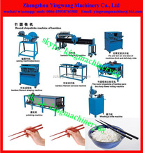 2 piece disposable wood/ bamboo chopsticks machine