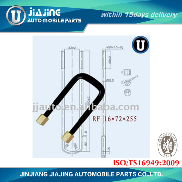 Japanese Series U Bolt and Nut auto part