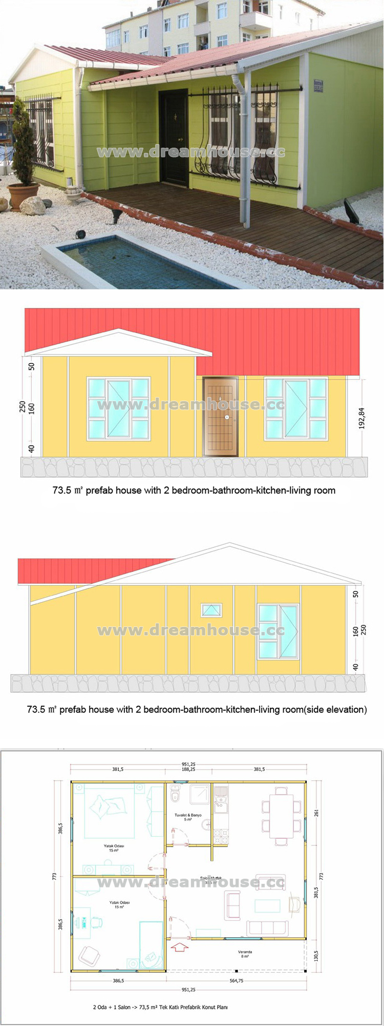 Prefabricated modular homes cabin prefab house plans house for House plans puerto rico