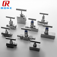 Stainless Steel Hydraulic Flow Control Gas Needle Valve